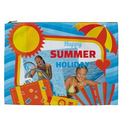 Summer By Summer Time    Cosmetic Bag (xxl)   Jhoy8mareac6   Www Artscow Com Front