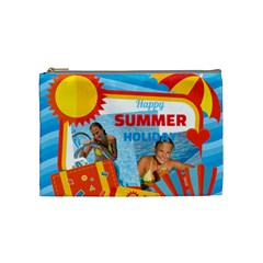 Summer By Summer Time    Cosmetic Bag (medium)   Bvjeuymrlvk5   Www Artscow Com Front