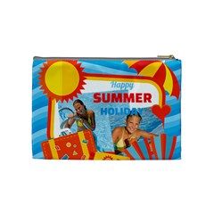Summer By Summer Time    Cosmetic Bag (medium)   Bvjeuymrlvk5   Www Artscow Com Back