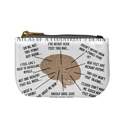 Atlas Of A Podiatrist s Brain Coin Change Purse by GailGabel
