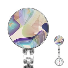 Abstract Stainless Steel Nurses Watch by infloence
