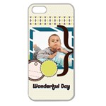 kids - Apple Seamless iPhone 5 Case (Clear)