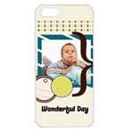 kids - Apple iPhone 5 Seamless Case (White)