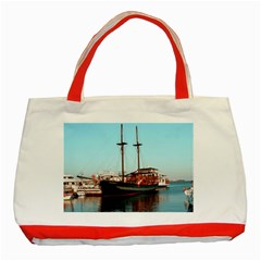 Travel Classic Tote Bag (red) by infloence