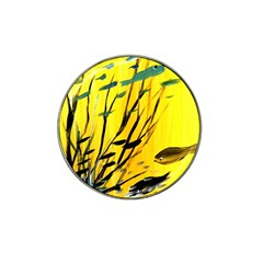 Yellow Dream Golf Ball Marker 4 Pack (for Hat Clip) by pwpmall
