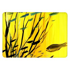 Yellow Dream Samsung Galaxy Tab 8 9  P7300 Flip Case by pwpmall