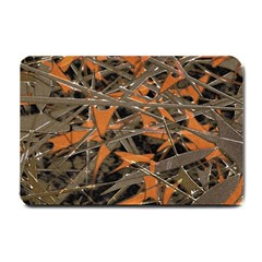 Intricate Abstract Print Small Door Mat by dflcprints