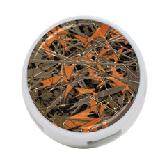 Intricate Abstract Print 4 Port Usb Hub (two Sides) by dflcprints