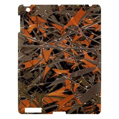 Intricate Abstract Print Apple Ipad 3/4 Hardshell Case by dflcprints