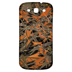 Intricate Abstract Print Samsung Galaxy S3 S Iii Classic Hardshell Back Case by dflcprints