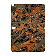 Intricate Abstract Print Samsung Galaxy Note 10 1 (p600) Hardshell Case by dflcprints