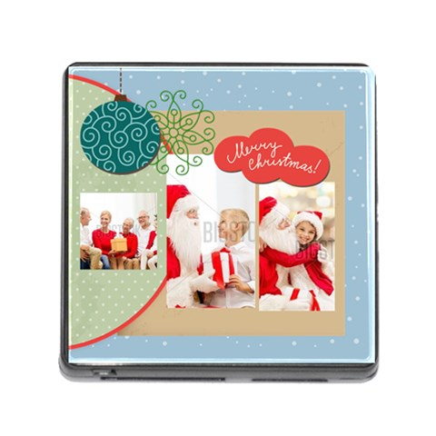 Xmas By Xmas   Memory Card Reader (square)   Z1f2jqh5r6ee   Www Artscow Com Front
