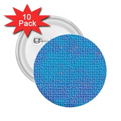 Textured Blue & Purple Abstract 2.25  Button (10 pack) by StuffOrSomething