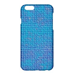 Textured Blue & Purple Abstract Apple iPhone 6 Plus Hardshell Case