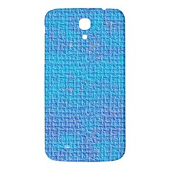 Textured Blue & Purple Abstract Samsung Galaxy Mega I9200 Hardshell Back Case by StuffOrSomething