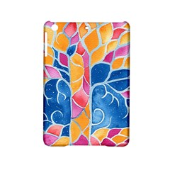 Yellow Blue Pink Abstract  Apple iPad Mini 2 Hardshell Case by OCDesignss