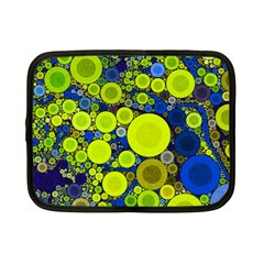 Polka Dot Retro Pattern Netbook Sleeve (small) by OCDesignss