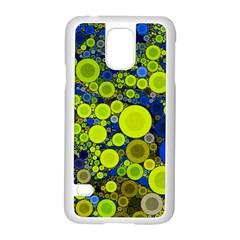 Polka Dot Retro Pattern Samsung Galaxy S5 Case (white) by OCDesignss