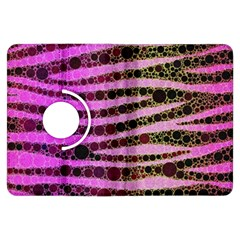 Hot Pink Black Tiger Pattern  Kindle Fire Hdx Flip 360 Case by OCDesignss