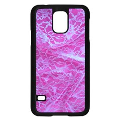 Pink Lace  Samsung Galaxy S5 Case (black)
