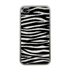 Black White Tiger  Apple Iphone 4 Case (clear) by OCDesignss