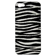 Black White Tiger  Apple Iphone 5 Hardshell Case by OCDesignss