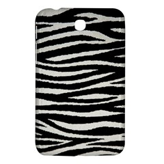 Black White Tiger  Samsung Galaxy Tab 3 (7 ) P3200 Hardshell Case  by OCDesignss