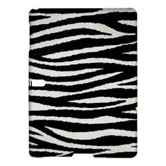 Black White Tiger  Samsung Galaxy Tab S (10 5 ) Hardshell Case  by OCDesignss