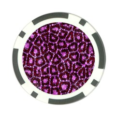 Cheetah Bling Abstract Pattern  Poker Chip (10 Pack) by OCDesignss