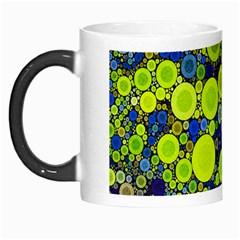 Polka Dot Retro Pattern Morph Mug by OCDesignss
