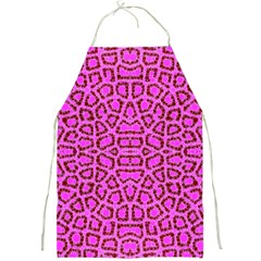 Florescent Pink Animal Print  Apron by OCDesignss