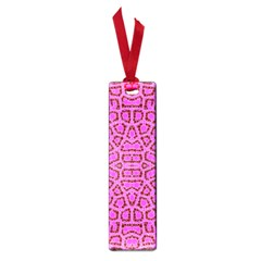 Florescent Pink Animal Print  Small Bookmark by OCDesignss
