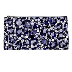 Lavender Cheetah Bling Abstract  Pencil Case by OCDesignss