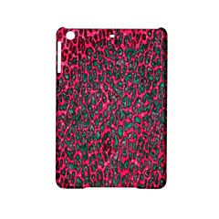 Florescent Pink Leopard Grunge  Apple Ipad Mini 2 Hardshell Case by OCDesignss