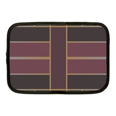Vertical And Horizontal Rectangles Netbook Case (medium) by LalyLauraFLM