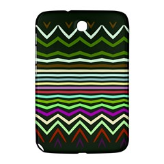 Chevrons And Distorted Stripes Samsung Galaxy Note 8 0 N5100 Hardshell Case  by LalyLauraFLM