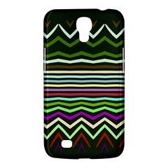 Chevrons And Distorted Stripes Samsung Galaxy Mega 6 3  I9200 Hardshell Case by LalyLauraFLM