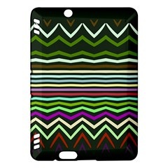 Chevrons And Distorted Stripeskindle Fire Hdx Hardshell Case by LalyLauraFLM