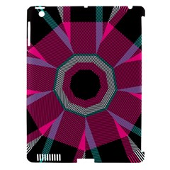 Striped Hole Apple Ipad 3/4 Hardshell Case (compatible With Smart Cover) by LalyLauraFLM