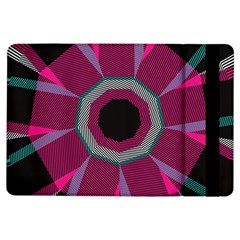 Striped Hole	apple Ipad Air Flip Case by LalyLauraFLM