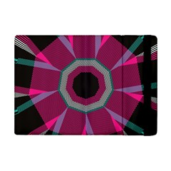 Striped Hole	apple Ipad Mini 2 Flip Case by LalyLauraFLM