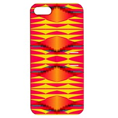 Colorful Tribal Texture Apple Iphone 5 Hardshell Case With Stand by LalyLauraFLM