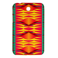 Colorful Tribal Texture Samsung Galaxy Tab 3 (7 ) P3200 Hardshell Case  by LalyLauraFLM