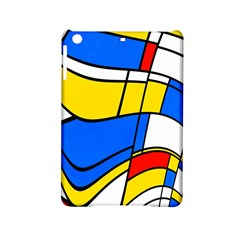 Colorful Distorted Shapes Apple Ipad Mini 2 Hardshell Case by LalyLauraFLM