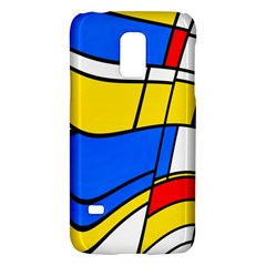Colorful Distorted Shapessamsung Galaxy S5 Mini Hardshell Case by LalyLauraFLM