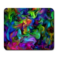Unicorn Smoke Large Mouse Pad (Rectangle) by KirstenStar