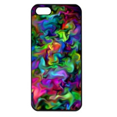 Unicorn Smoke Apple Iphone 5 Seamless Case (black) by KirstenStar