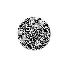 70 s Wallpaper Golf Ball Marker 10 Pack by KirstenStar