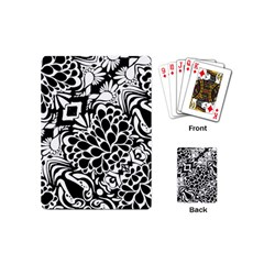 70 s Wallpaper Playing Cards (mini) by KirstenStar