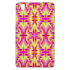 Pink and Yellow Rave Pattern Samsung Galaxy Tab Pro 8.4 Hardshell Case